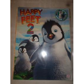 Álbum De Figurinhas Happy Feet 2 Completo