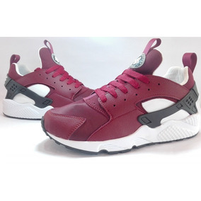 new products 3be61 b0516 Zapatos Nike Air Max Huarache Vino Para Damas Y Caballeros