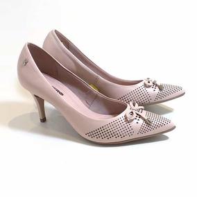 8ba0a2e594 Belíssimo Scarpin Ferrucci Coleção - Sapatos no Mercado Livre Brasil