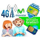 Chip Movistar Whatsapp Gratis - Otec