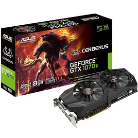 Placa De Vídeo - Nvidia Geforce Gtx 1070 Ti (8gb / Pci-e) -