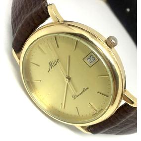 446192df654 Relógio Mido Ouro 18k. Totalmente Em Ouro Maciço. Raridade ...