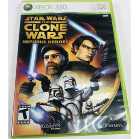 Star Wars: The Clone Wars Republic Heroes Xbox 360 Original