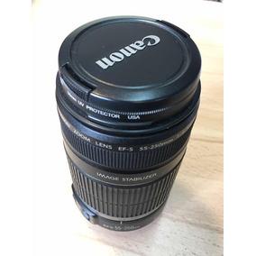 Lente Canon Efs 55-250 4-5.6 Is Zoom 60d 80d 140 Trp