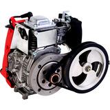 Kit Motor Bicicleta Motorizada 4 Tempos 49cc 7g Tbelt Drive