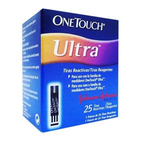 Tiras Reactivas One Touc Ultra Para Glucosa 50 Piezas