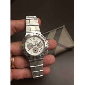 bf34cb5624c Leilo Relogio Bvlgari Diagono Professional - Relógios no Mercado ...
