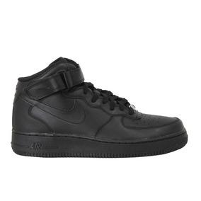 Tênis Nike Air Force 1 Mid 07 Preto Feminino.