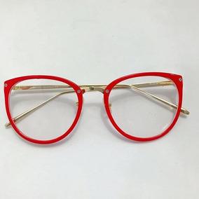 Oculos Retrô Armação Vermelha Armacoes - Óculos no Mercado Livre Brasil 0be1eb4978