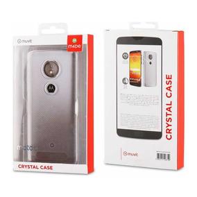 Funda Crystal Case Muvit Para Motorola E5
