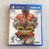 Street Fighter V Juegazo Para Tu Ps4 Nuevo Y Sellado Envío