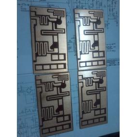 Placa Lisa Para Montar Amplificador Rf Fm De 10 À 150watts