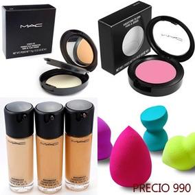 Combo De Maquillaje Mac Clinique Anastasia Revlon Morphe