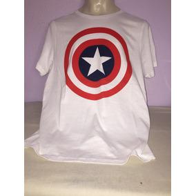 Playera Capitán America. Importa. Hot Topic