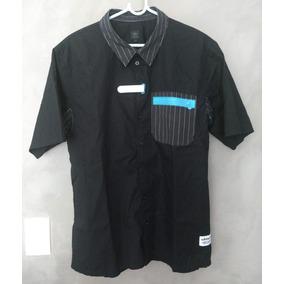 Camisa adidas Preta - Modelo Colecionador Cheia De Detalhes 7c7ad9d877685