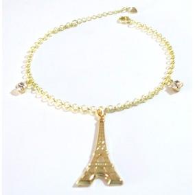 e02419a8c8a Pulseira Torre Eiffel - Joias e Relógios no Mercado Livre Brasil