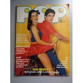 Revista Pop 81 Bob Marley Baby Consuelo Tom Robson 180