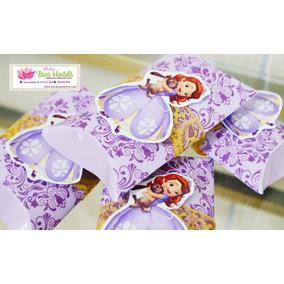 Kit 5 Caixa Travesseiro Princesa Sofia