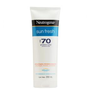 Protetor Solar Neutrogena Sun Fresh Corpo Fps70 200ml