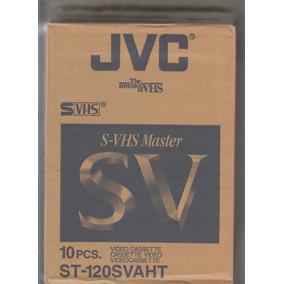 Fitas Svhs Jvc Novas Lacradas Caixa Com 10 R$ 169,00