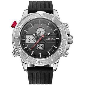 Relógio Masculino Weide Anadigi Wh6108 Pr