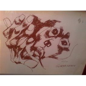 Serigrafia Numerada Cabeza Y Mano Guayasamin Autenticada Art