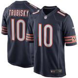 Camisa Futebol Americano Nfl Chicago Bears Trubisky f798a4fd5fa