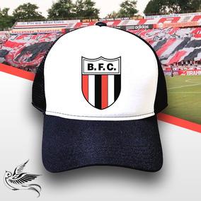 ee3f6b6c01 Boné Botafogo Sp Preto E Branco Trucker Frete Grátis