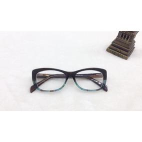 Oculos De Grau Feminino Quadrado - Óculos Verde no Mercado Livre Brasil a0b95c8d85