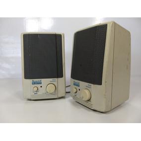 Caixa Som Pc Antigo Creative Sound Blaster Sbs38 Sb 486