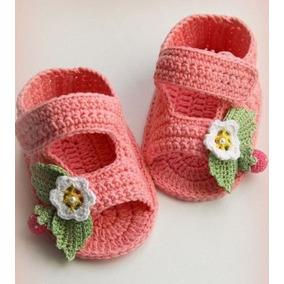 Sandalias Tejidas Para Bebes