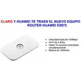 Router Moden Wifi Contrato Claro Internet 4g Lte Bateria Usb