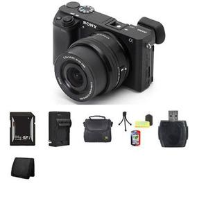 Sony Alpha A6000 Sin Espejo Digital - Negro W/16-50 Mm Lente