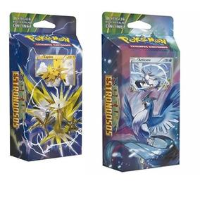 2 Deck Pokémon Céus Estrondosos Xy06 Articuno + Zapdos