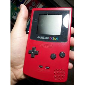 Game Boy Color Original Nintendo Na Cor Rosa