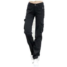 Pantalon Cargo Mujer Trabajo Gabardina Premium Hard Best 2615f702073a
