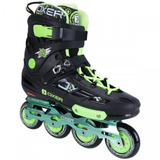 Patins Oxer Freestyle - In Line Slalom - Abec 9 - Verde Cla