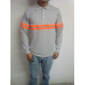 3c56fd4d0d89c Playera Camisa Polo Con Reflejante Uniforme Policia Transito. 1 vendido -  Puebla · Playera Polo Manga Larga Algodon C reflejante Buena Calidad