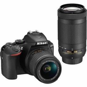 Nikon D5600 Kit 18-55mm + 70-300mm + 16gb + Bolsa