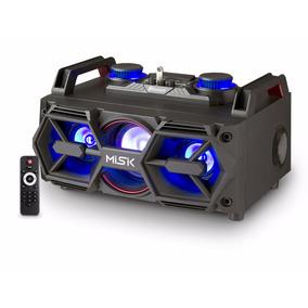 Minicomponente Bluetooth, Usb/sd 2,500 W Ms2300 Misik Negro