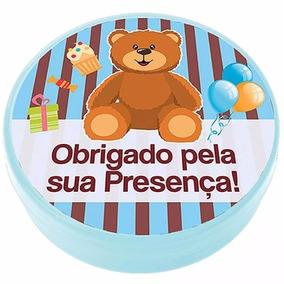 50 Latinha Personalizada C/ Pezinhos De Sabonete Chá De Bebê