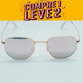 ca0f2d102b53f Oculos De Sol Salmão Espelhado - Calçados, Roupas e Bolsas no ...