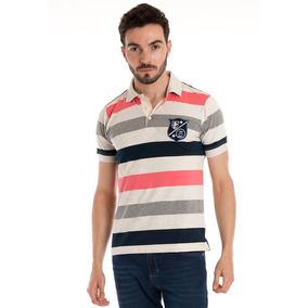 Camisa Polo Listrada - Pólos Manga Curta Masculinas em Santa ... 33f9bf3c30e46
