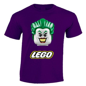 Playera Personalizada Batman, Joker, Harley, Lego 100% Moda