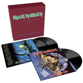 Iron Maiden Collectors Box Vinil 1990-2015 - Veja As Fotos