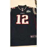 Camisa Nfl New England Patriots Tom Brady Pronta Entrega
