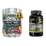Amino Build Muscletech 281g Importado Bcaa Nutrex Cellucor