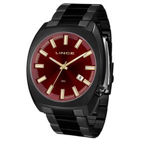 5f7ad630c3b Relogio Lince Fundo Vermelho - Relógios De Pulso no Mercado Livre Brasil