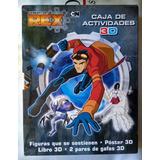 Generator Rex Caja Actividades 3d Figuras Libro 3d Gafas 3d