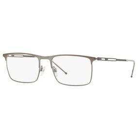 6e76ccb285bfa Armação Oculos Grau Emporio Armani Ea1083 3003 55 Grafite